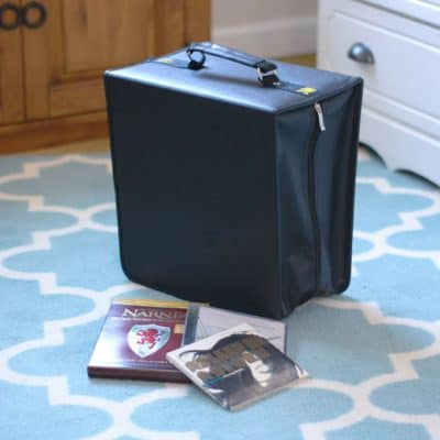 DVD and CD Storage Solutions – No More Shelves!