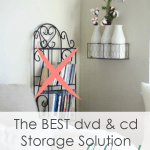 DVD CD storage solution no more shelves dvd rack again wall with other wall decor