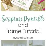 photos of scripture verses in frames titel free scripture printable and tutorial
