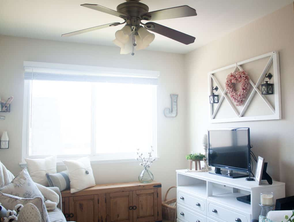 ceiling fan makeover farmhouse style