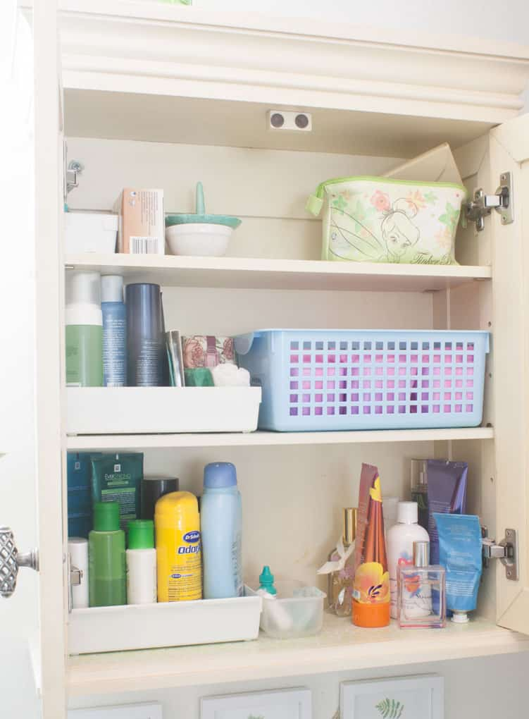 Affordable storage solutions for small bathrooms my wee abode Storage solutions for tiny bathrooms