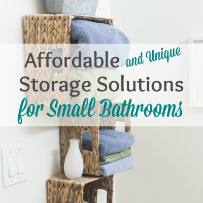 Affordable Storage Solutions for Small Bathrooms