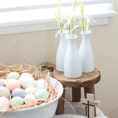 spring home tour decor ideas curating a home