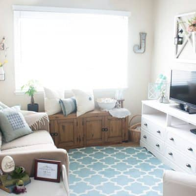 spring home tour decor ideas curating a home