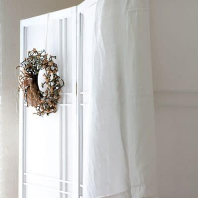 Add a Quick and Pretty Closet to Any Room!