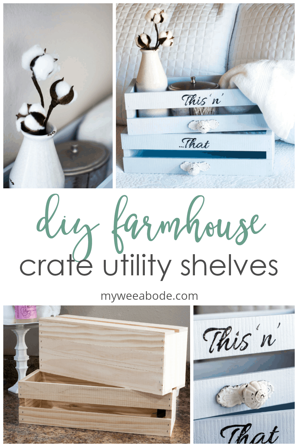 diy farmhouse crate shelves various photos of blue shelves and cotton stems