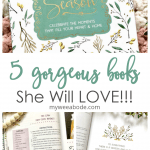 last minute gifts for mother's day that mom will love book cover and open book