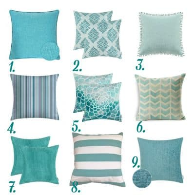 Affordable Summer Pillow Inspiration