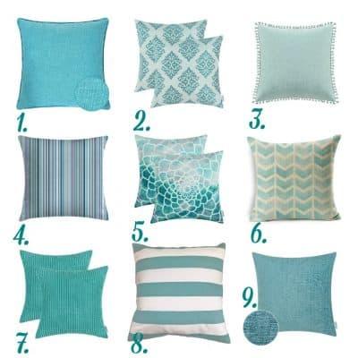Affordable Summer Pillow Inspiration