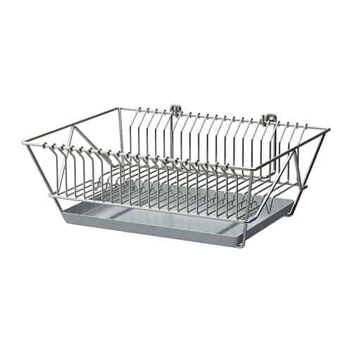 nickel plated dish drainer