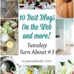 various pictures of crafts and diy projects with title 10 best blogs on the web and more tuesday turn about #3