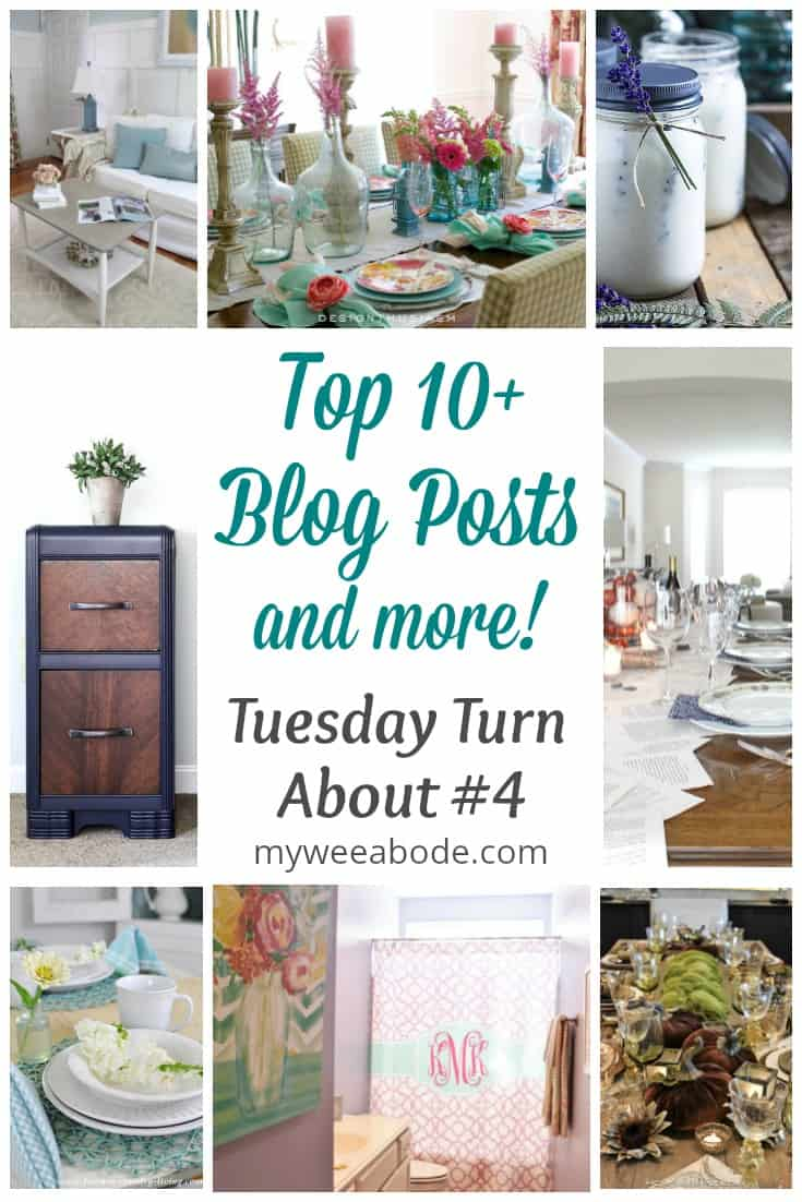 various pictures of diy projects titled top 10 plus blog posts and more tuesday turn about #4