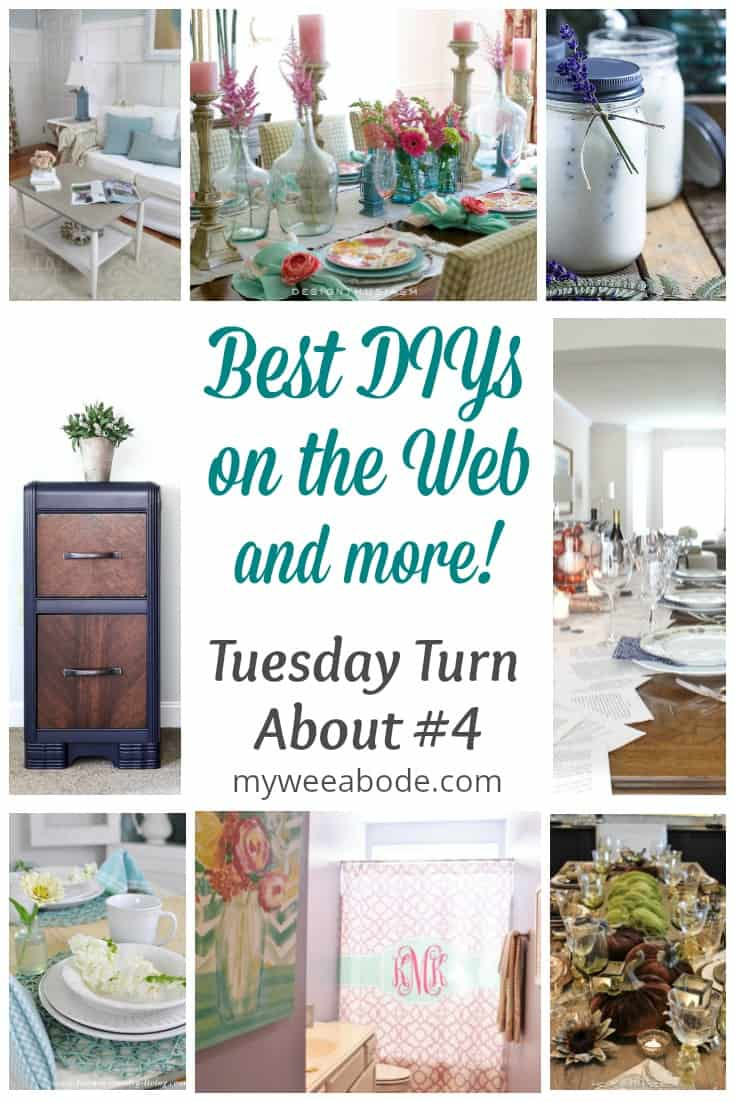 various pictures of diy projects titled best diys on the web and more tuesday turn about #4