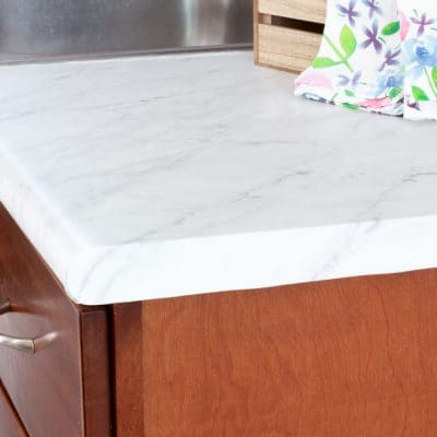 DIY Cheap Countertops That Look Expensive