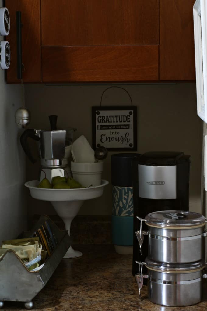 diy coffee station ideas for small spaces
