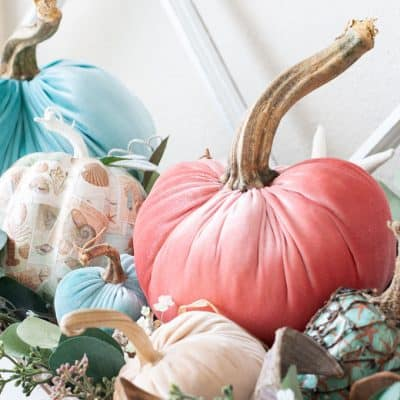 DIY Velvet Pumpkins Just Like the Pros!