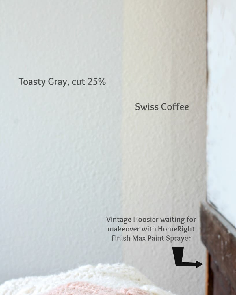 how to paint walls fast and easy color swatches of a beige and gray