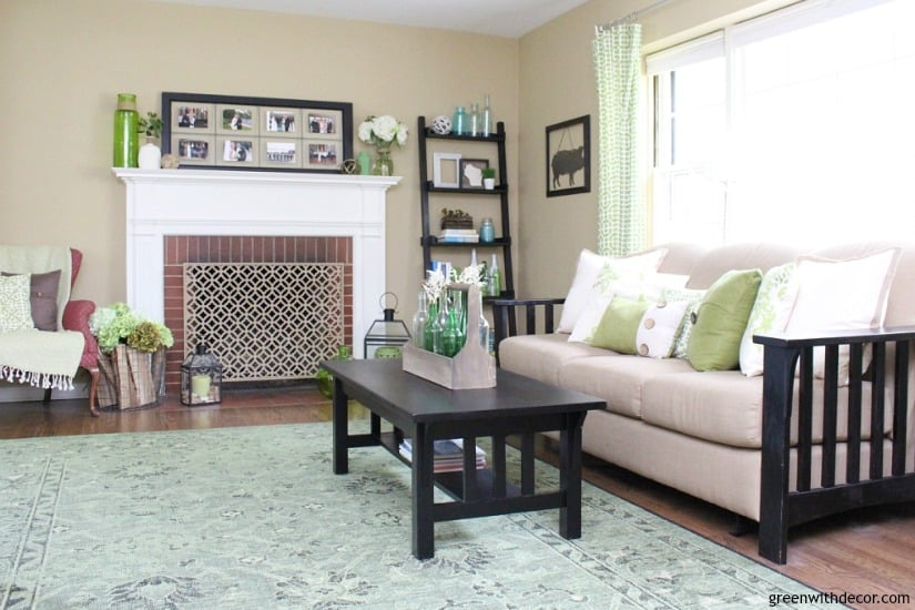 help me choose a living room paint color greenwithdecor living room with fireplace sofa and coffee table decorated in neutrals and greens