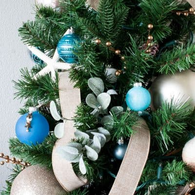 Big Ideas for Decorating a Small Christmas Tree