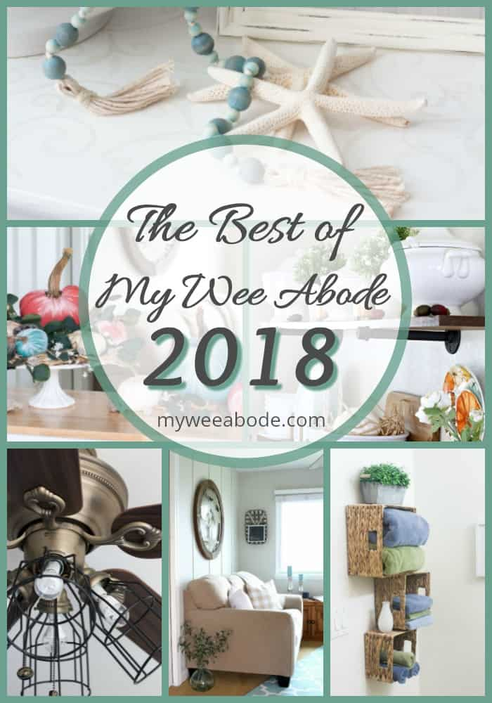 best of my wee abode 2018 variety of photos with diy projects and decor