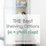 best shelving small closet vacuum and shelves in corner of room with room divider