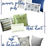 summer color pillow covers