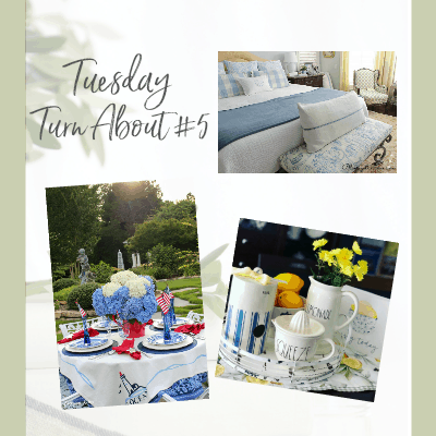 tuesday turn about link party 5 various photos of home and gardens
