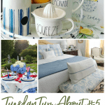 tuesday turn about link party 5 photos of home decor and garden