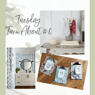 Tuesday Turn About Link Party #6
