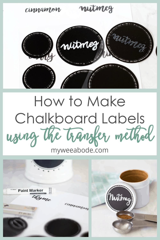diy chalkboard font labels various picture of chalk labels and steps for diy