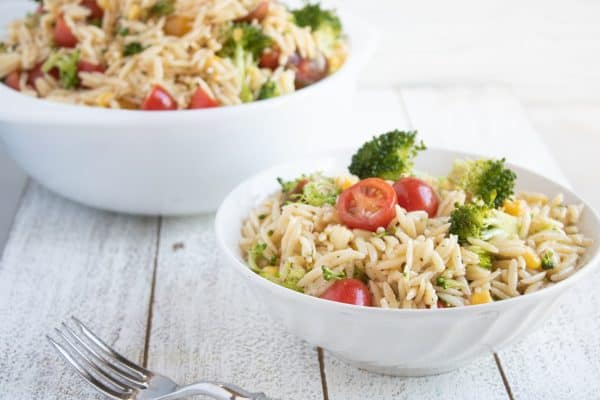 tuesday turn about summer recipes orzo salad with tomatoes and broccoli