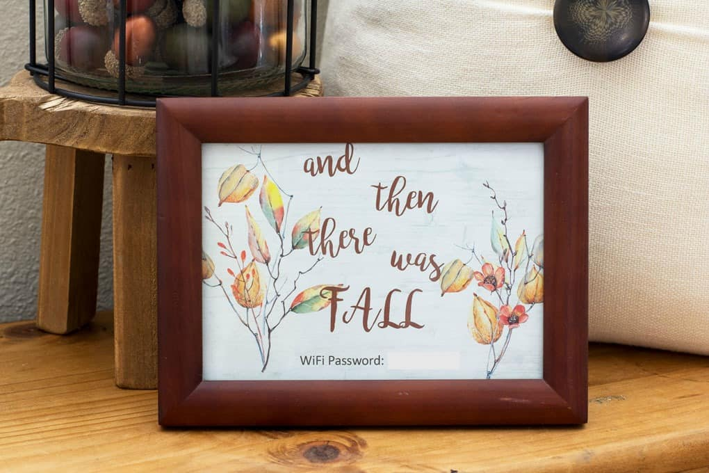 small home fall tour small framed artwork