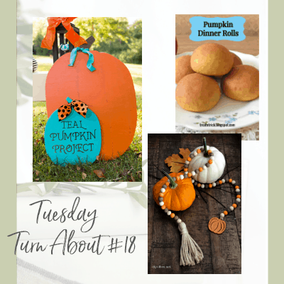 Tuesday Turn About #18 – Pumpkin Fun