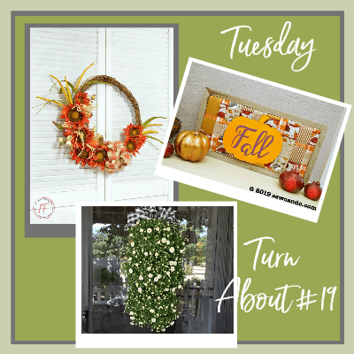 Tuesday Turn About #19 – Fall Wall Decor