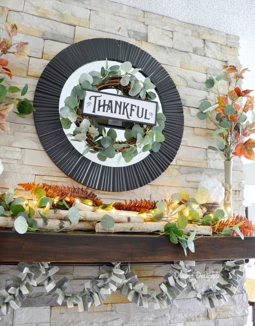 tuesday turn about 21 fall home tours fall decorated mantel
