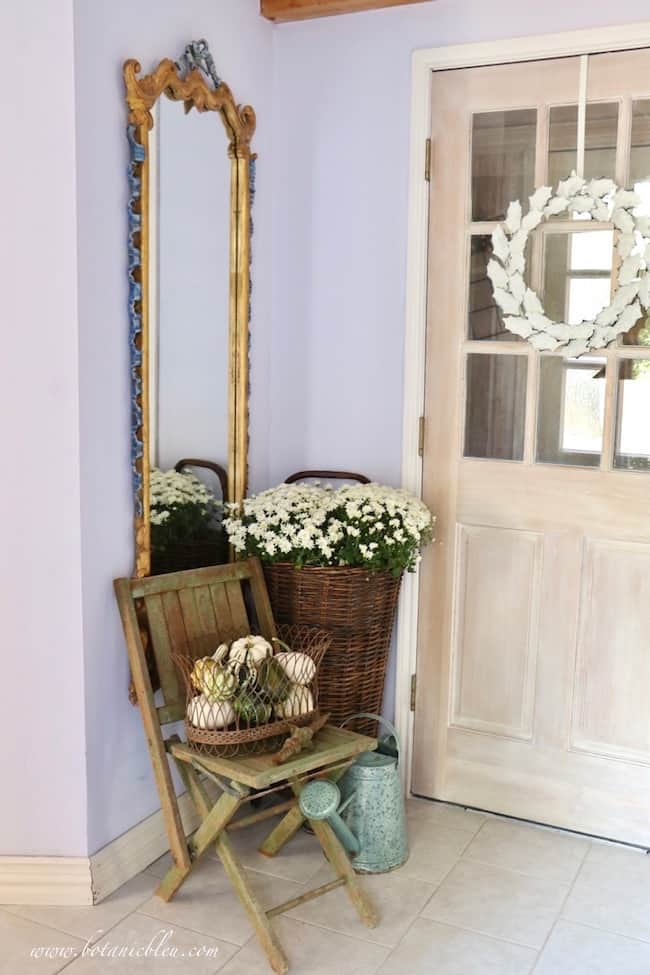 tuesday turn about 22 small entryway decorated in rustic french touches