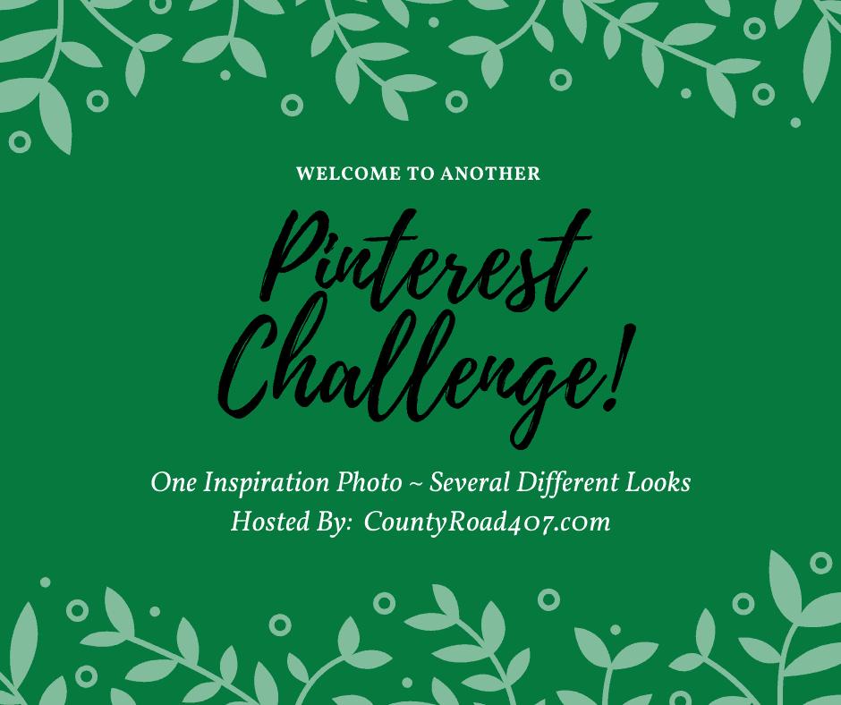 pinterest challenge graphic in green