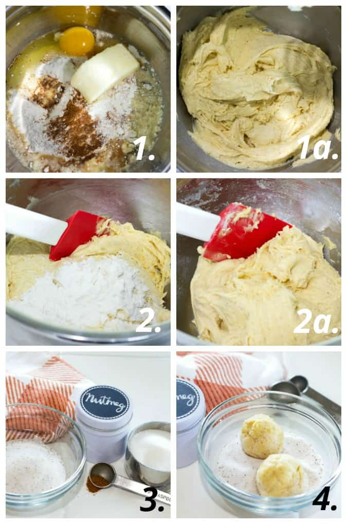 easy holiday nutmeg cookies instructional photos