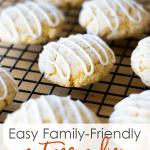 easy holiday nutmeg cookies on baking rack