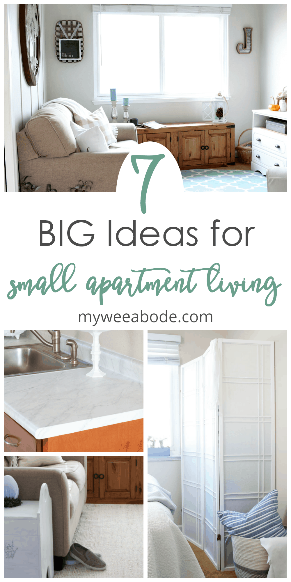 photos of small apartment projects and decor