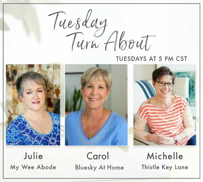 tuesday turn about hostess collage
