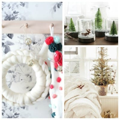 tuesday turn about 30 pics of winter home decor and snow globes