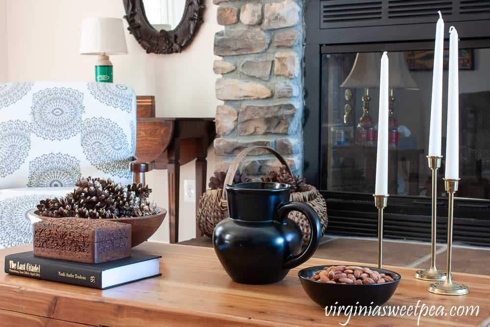 tuesday turn about 33 winter inspiration coffee table with cozy decor