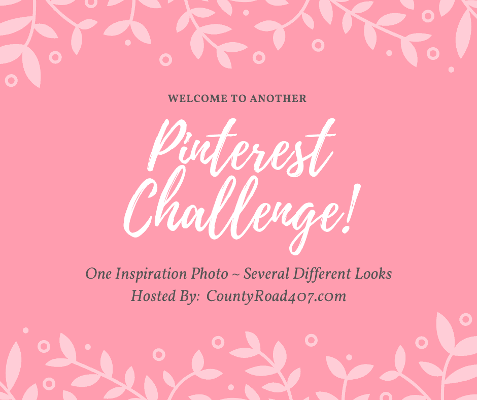 refresh your mantel with spring decor pink pinterest challenge banner