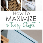 how to get the most from a small closet organized closet