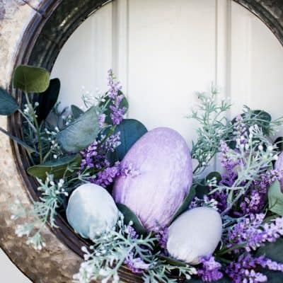 Spring Door Decor To Make While You Stay Home