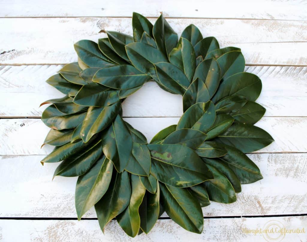 stay home spring wreaths real magnolia leaf wreath