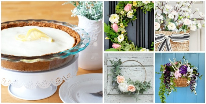tuesday turn about 42 spring smiles photos of wreaths and cheesecake