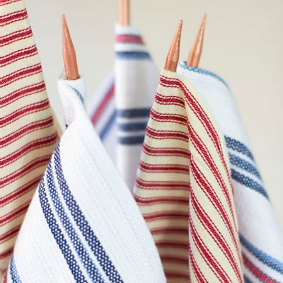 How to Make Flags from Fabric Scraps