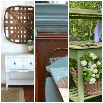 Tuesday Turn About #54 Summer Furniture Projects